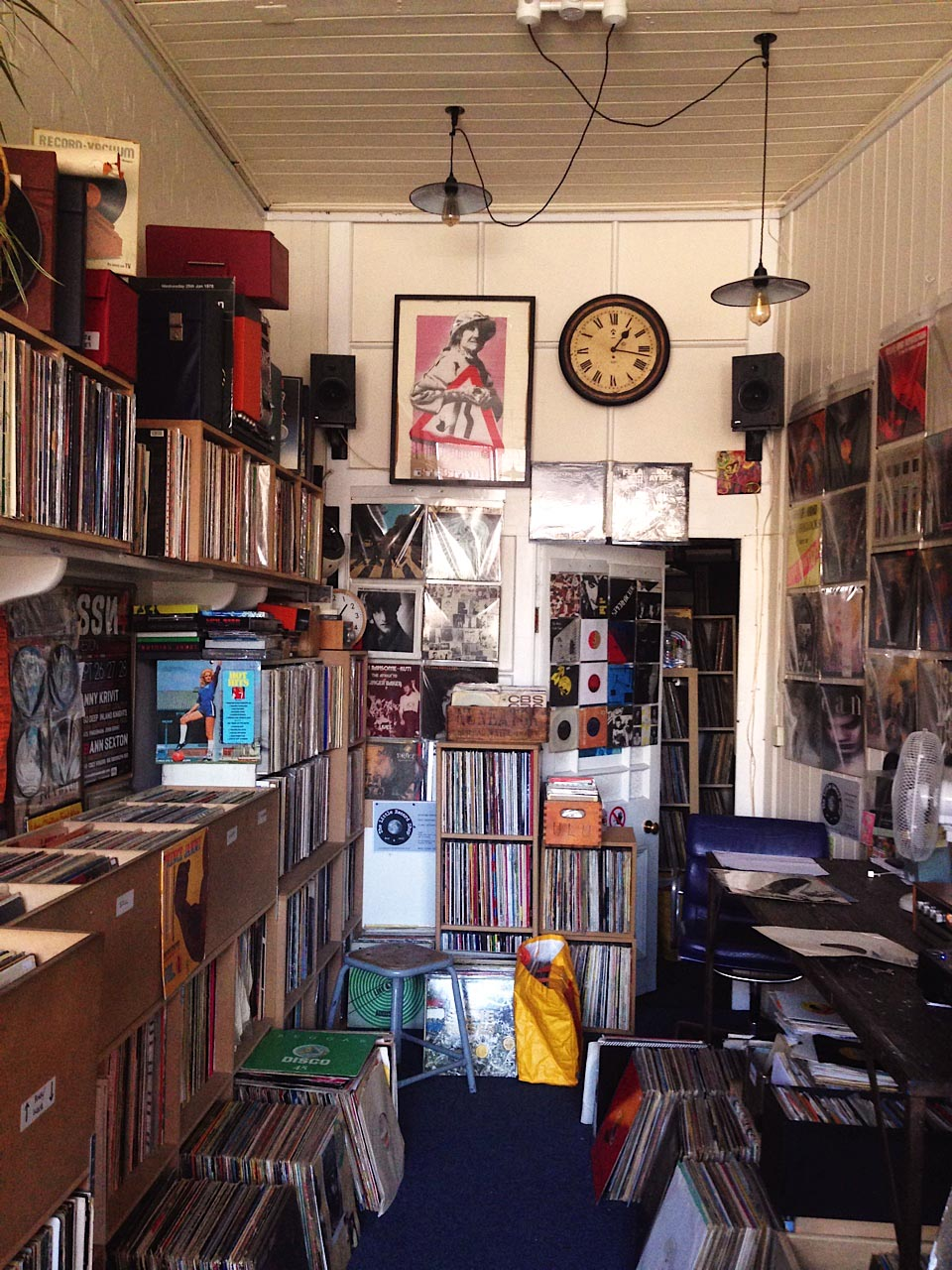 Inside The Little Record Shop