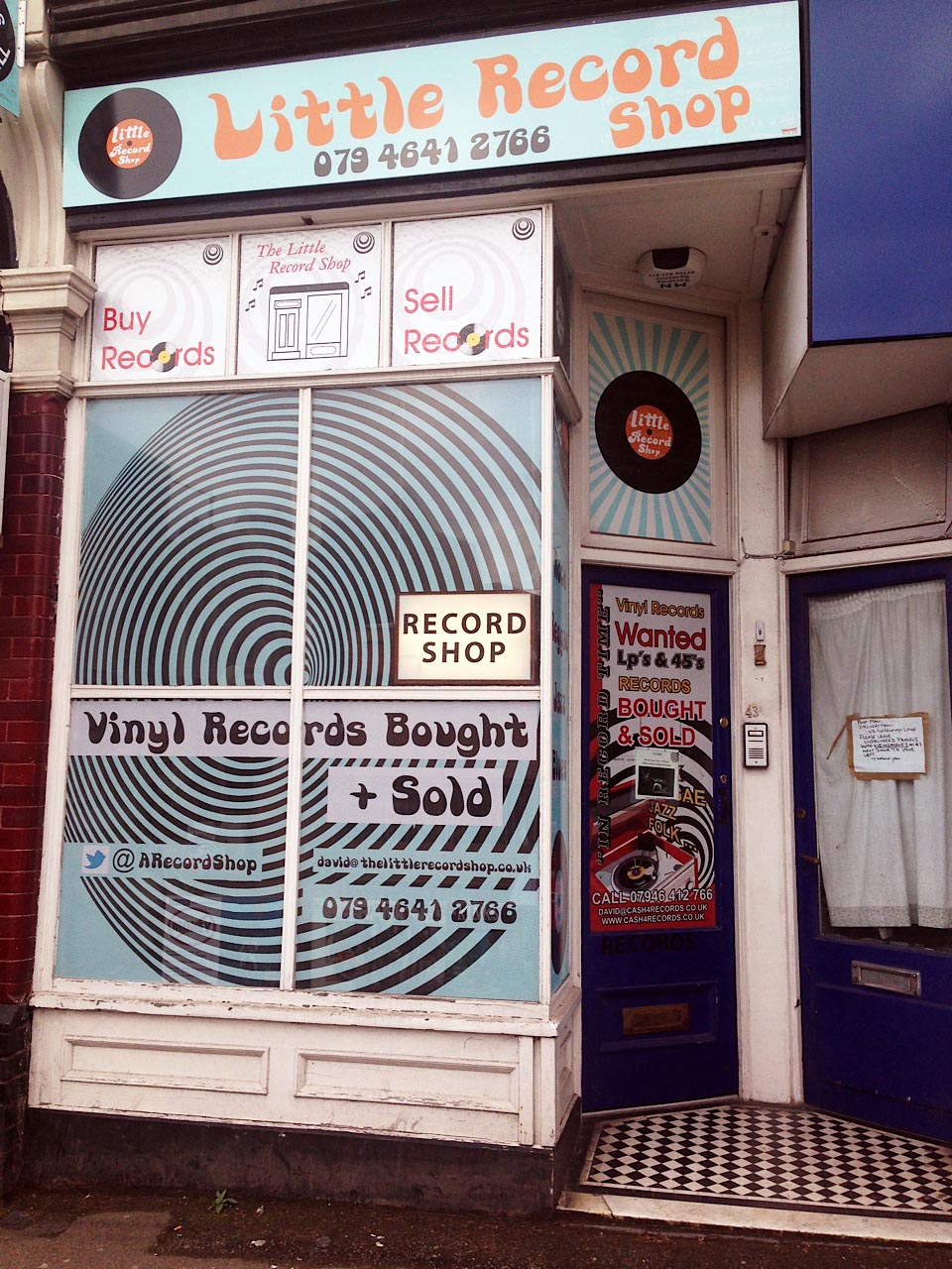 The Little Record Shop, Tottenham Lane, London