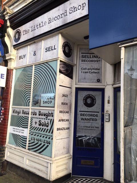 The Little Record Shop, Tottenham Lane, London