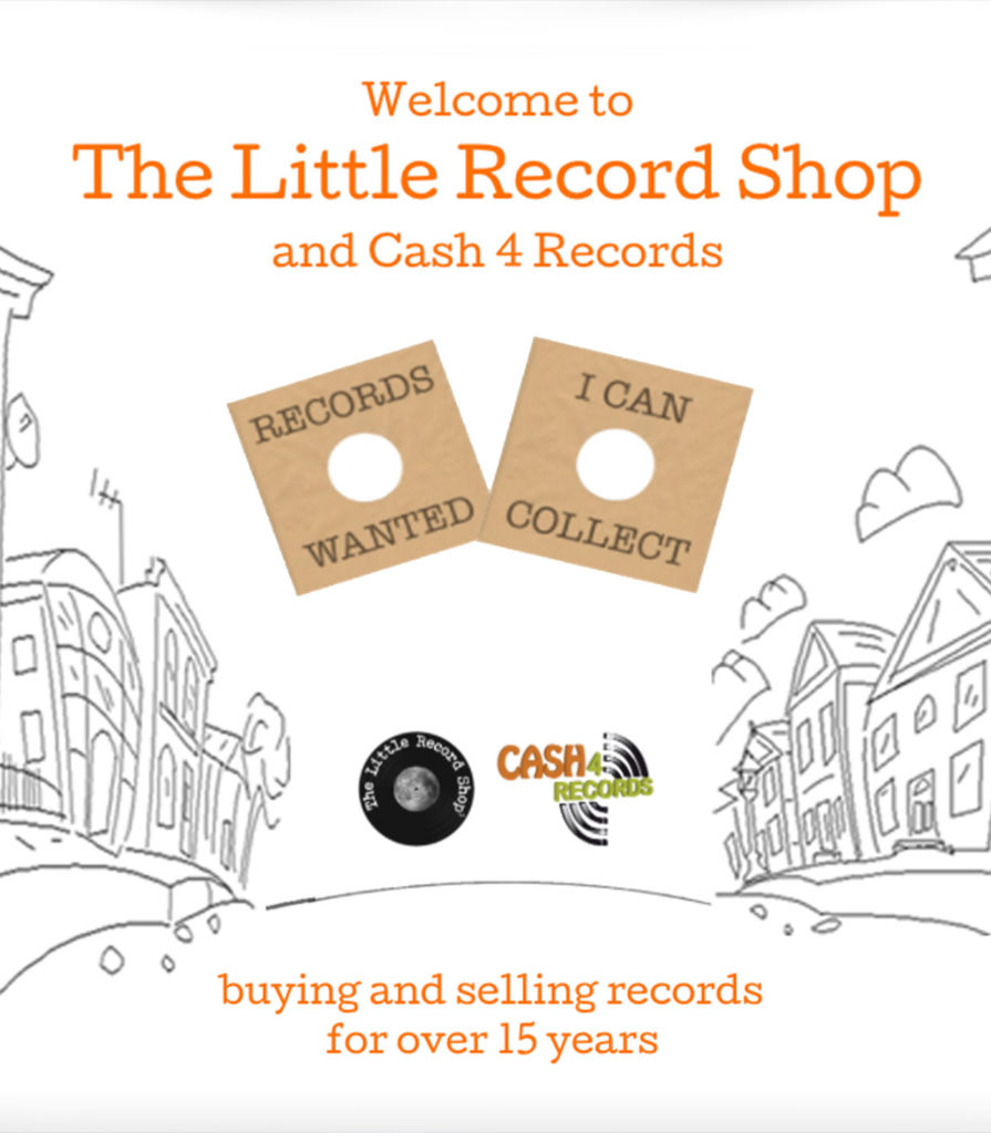 Sell records-Buy records-The Little Record Shop & Cash 4 Records